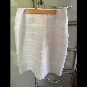 New with Tags!! Talbots Size 12W Linen Skirt